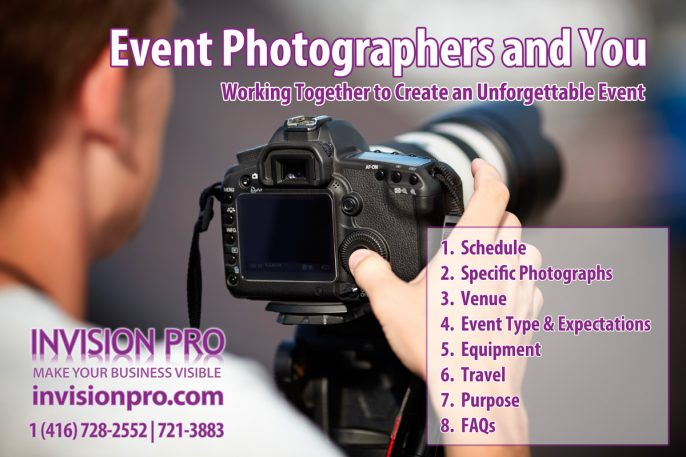 Event Photographers and You