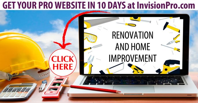 Professional Renovation Websites