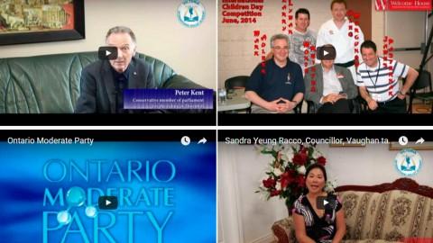 Portfolio: Video for Politicians
