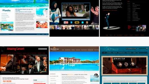 Portfolio: <br />Web Design