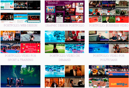InvisionPro-portfolio Video Production, Web Design, Graphic Design