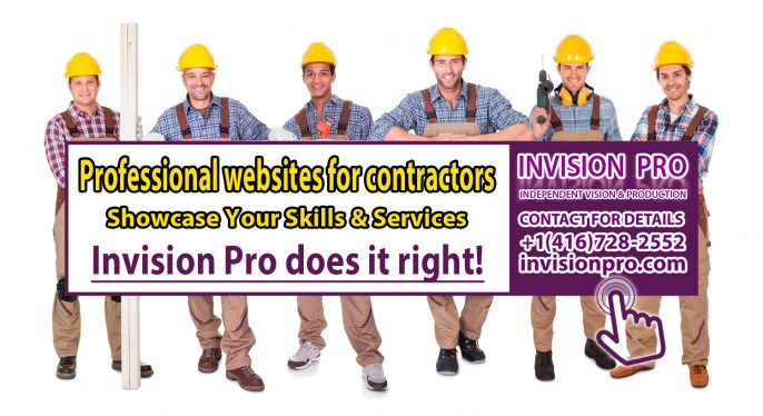 Professional Websites for Contractors